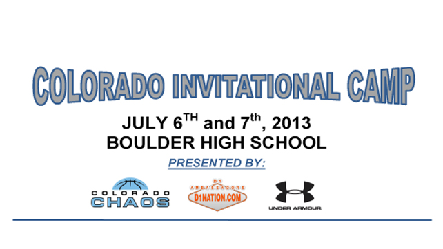 Colorado Invitational Camp – Day 2 -Summer Report