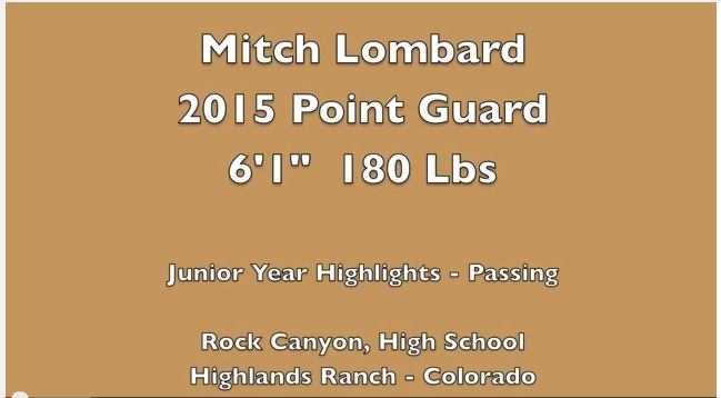2015 G Mitch Lombard YouTube Video