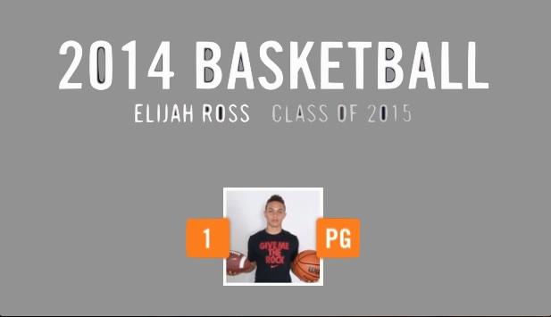 2015 PG Elijah Ross Highlights