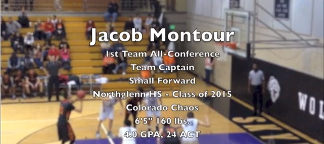2015 6'5 Jacob Montour – Highlights – #ColoradoChaos #Northglenn