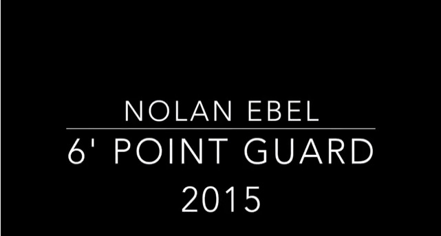 Regis / Colorado Miners Guard Nolan Ebel -2015