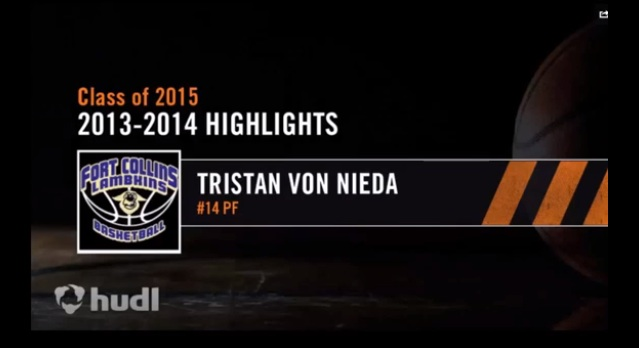 2015 F/C Tristan Von Nieda Highlights – 6'9 – High Academics – Ft. Collins – Colorado Chaos
