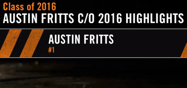 2016 6'4 Guard Austin Fritts – Green Mountain- Next level Premier
