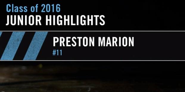 2016 Preston Marion – Greeley West – Colorado Chaos