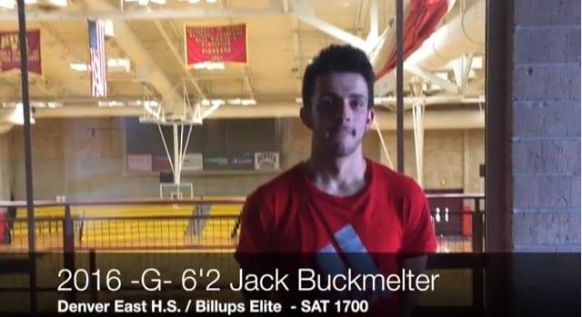 2016 6'2 G Jack Buckmelter
