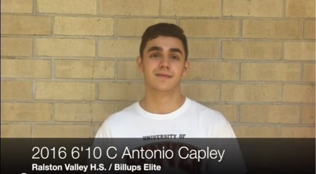 2016 6'10 Antonio Capley – talks recruiting- members only