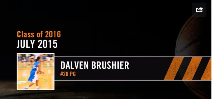2016 G 6'3 Dalven Brushier- July Highlights