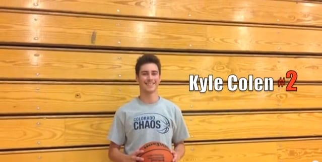2017 G Kyle Colen Highlights