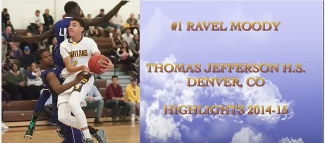 2017 Ravel Moody Sophomore Highlights
