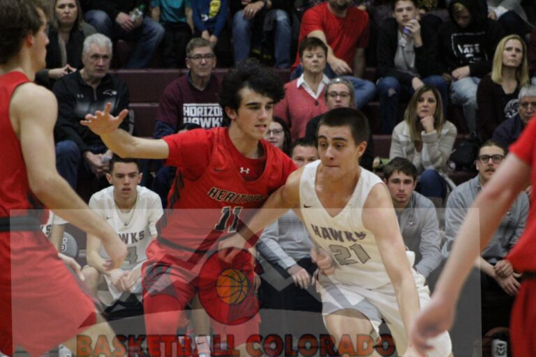 Horizon's 25-7 2nd Quarter Too Much For Heritage